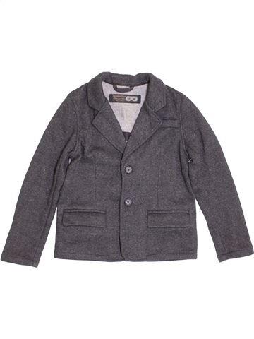 Veste garçon MANGO gris 10 ans hiver #1388044_1