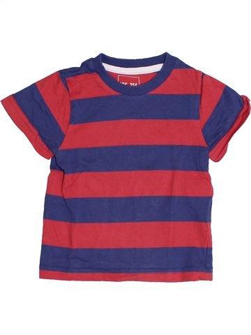 T-shirt manches courtes garçon YCC-214 violet 2 ans été #1388170_1