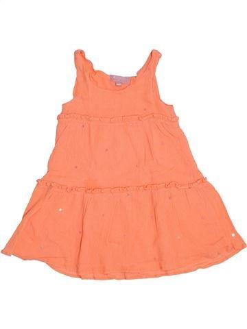 Robe fille LISA ROSE orange 3 ans été #1388207_1
