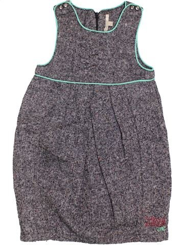 Robe fille PREMAMAN gris 6 ans hiver #1388451_1