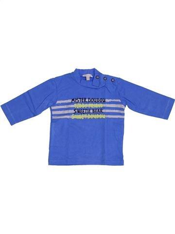 Camiseta de manga larga niño ABSORBA azul 3 meses invierno #1388944_1