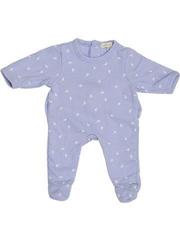 Pyjama 1 pièce garçon VERTBAUDET gris naissance hiver #1389083_1