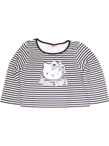T-shirt manches longues fille HELLO KITTY blanc 14 ans hiver #1389199_1