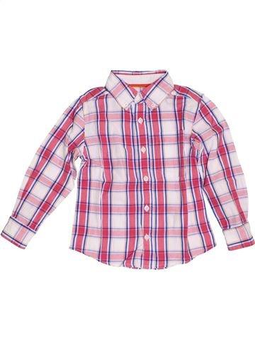 Camisa de manga larga niño 3 SUISSES rosa 5 años invierno #1389343_1