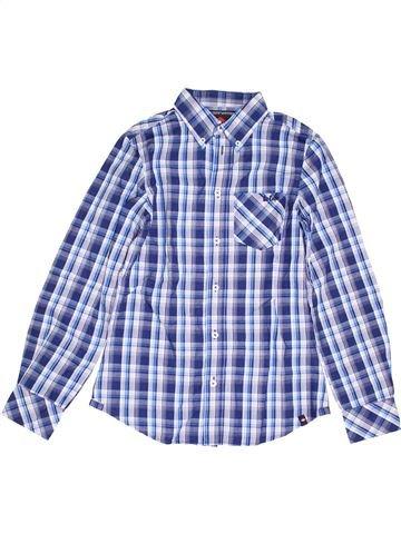 Chemise manches longues garçon LEE COOPER bleu 12 ans hiver #1389611_1