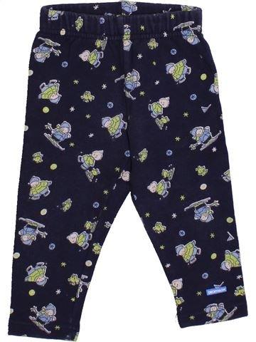 Pantalon garçon DÉCATHLON bleu 6 mois hiver #1389698_1
