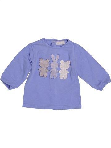 T-shirt manches longues garçon WIPLALA bleu 6 mois hiver #1389802_1