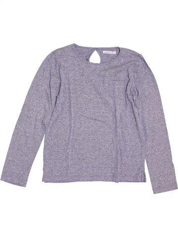 T-shirt manches longues fille MONOPRIX violet 10 ans hiver #1389825_1