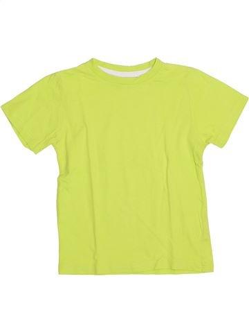 T-shirt manches courtes garçon LH BY LA HALLE jaune 5 ans été #1389896_1