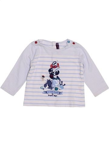 T-shirt manches longues garçon SERGENT MAJOR gris 6 mois hiver #1390213_1