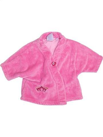 Robe de chambre fille CARRÉ BLANC rose 2 ans hiver #1390226_1