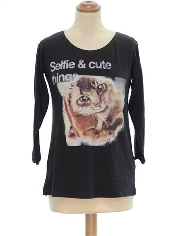 Top manches courtes femme PULL&BEAR M hiver #1390411_1