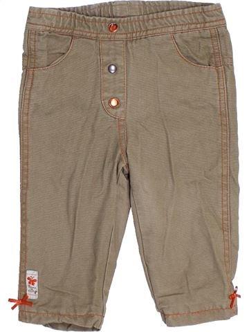 Pantalón niña SUCRE D'ORGE marrón 9 meses invierno #1390451_1