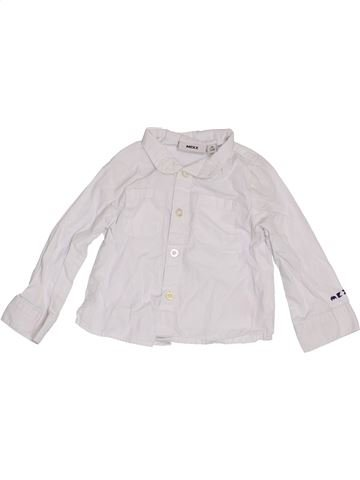 Chemise manches longues garçon MEXX blanc 6 mois hiver #1390479_1