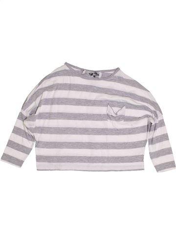 T-shirt manches longues fille PRIMARK blanc 9 ans été #1390856_1