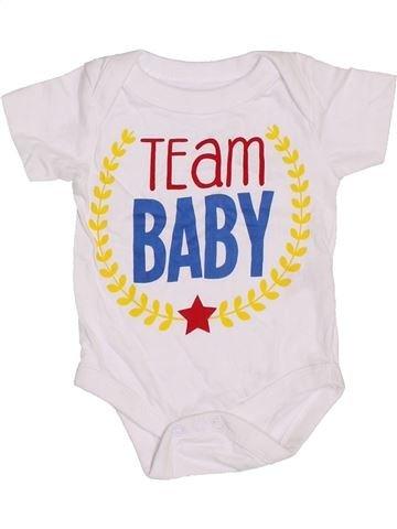 T-shirt manches courtes garçon PEP&CO blanc naissance été #1391240_1