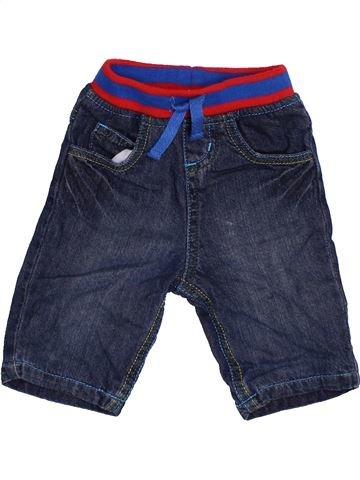 Pantalon garçon BLUEZOO bleu 3 mois hiver #1391705_1