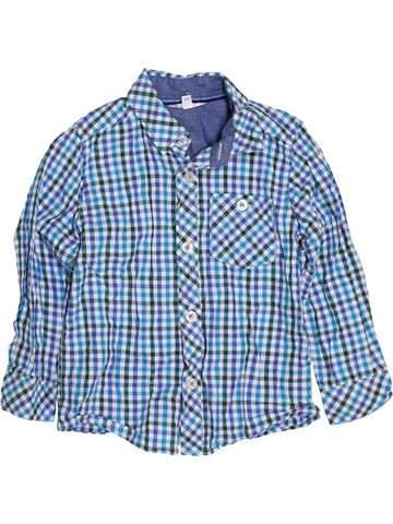 Camisa de manga larga niño JOHN LEWIS azul 3 años invierno #1392235_1