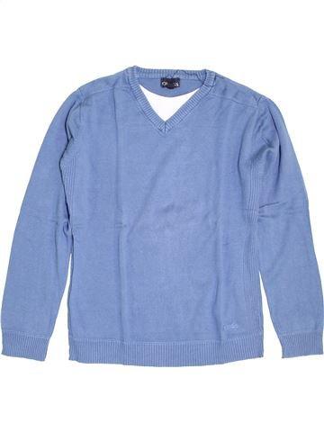 Pull garçon CREEKS bleu 12 ans hiver #1392612_1