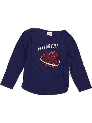 Camiseta de manga larga niña TAPE À L'OEIL azul 2 años invierno #1392932_1