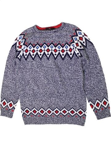 Pull garçon FLIPBACK gris 11 ans hiver #1393056_1