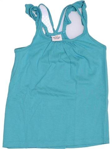 T-shirt sans manches fille TAPE À L'OEIL bleu 6 ans été #1393182_1