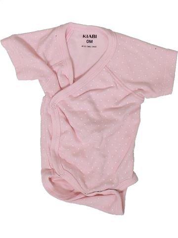 T-shirt manches courtes fille KIABI rose naissance été #1393254_1