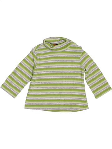T-shirt col roulé fille MAYORAL vert 3 mois hiver #1393289_1