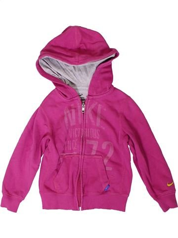 Sweat fille NIKE rose 4 ans hiver #1393420_1