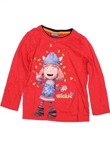 Camiseta de manga larga niño WICKIE rojo 7 años invierno #1393701_1