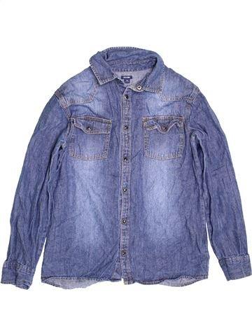 Camisa de manga larga niño KIABI violeta 12 años invierno #1393775_1