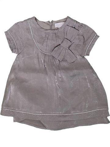 Robe fille KIMBALOO gris 3 mois hiver #1394081_1
