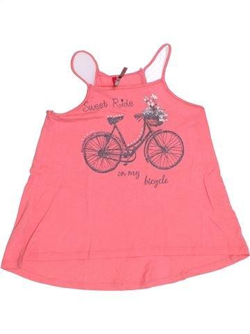 T-shirt sans manches fille ORCHESTRA rose 6 ans été #1394479_1