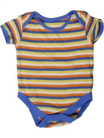 T-shirt manches courtes garçon MOTHERCARE beige 6 mois été #1394901_1
