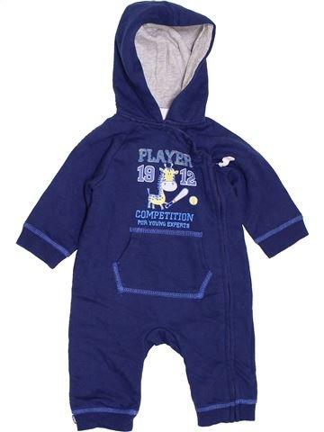 Combinación larga niño MON COEUR azul 3 meses invierno #1395168_1