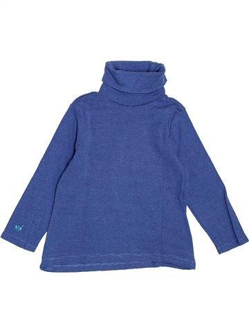 T-shirt col roulé garçon SERGENT MAJOR bleu 2 ans hiver #1395181_1