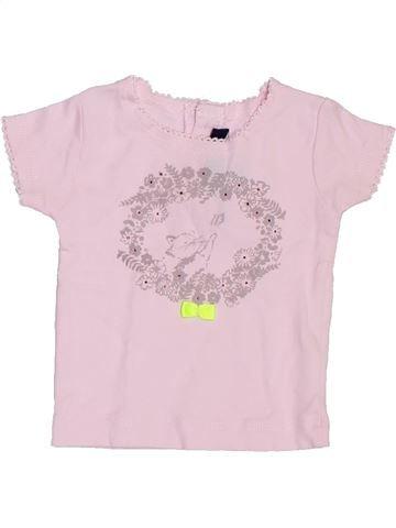 Camiseta de manga corta niña LILI GAUFRETTE rosa 6 meses verano #1395277_1
