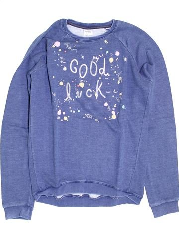 Sweat fille TAPE À L'OEIL violet 14 ans hiver #1395285_1