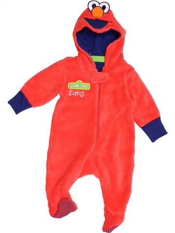 Robe de chambre garçon SESAME STREET rouge 1 mois hiver #1396268_1
