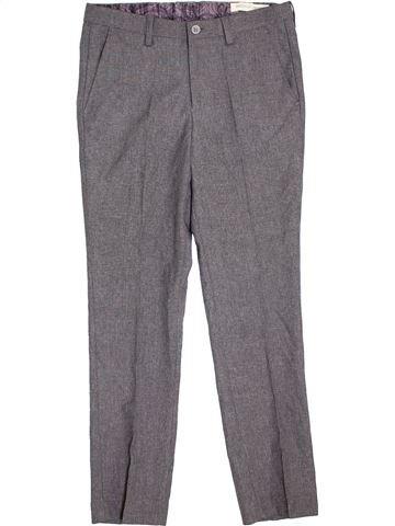 Pantalon garçon PAISLEY OF LONDON gris 11 ans hiver #1396305_1