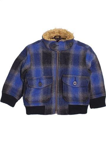 Manteau garçon GAP bleu 2 ans hiver #1396643_1