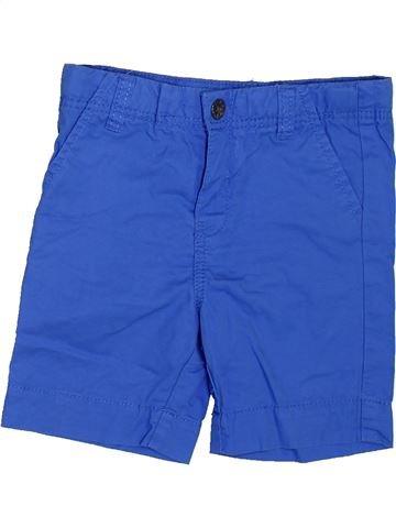 Short - Bermuda garçon OKAIDI bleu 18 mois été #1397138_1