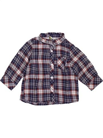Chemise manches longues garçon TAPE À L'OEIL gris 12 mois hiver #1397337_1