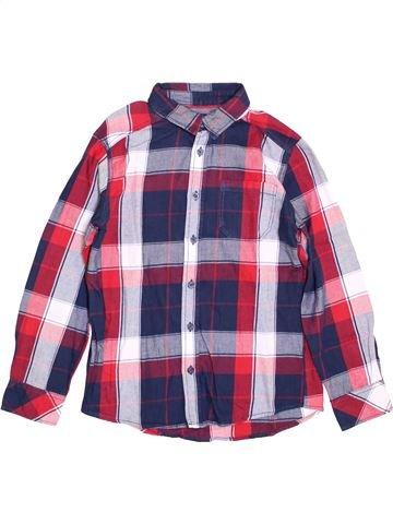 Camisa de manga larga niño KIABI violeta 10 años invierno #1397412_1