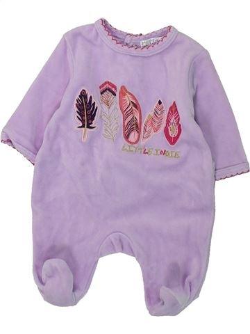 Pijama de 1 pieza niña KIABI gris 0 meses invierno #1397533_1