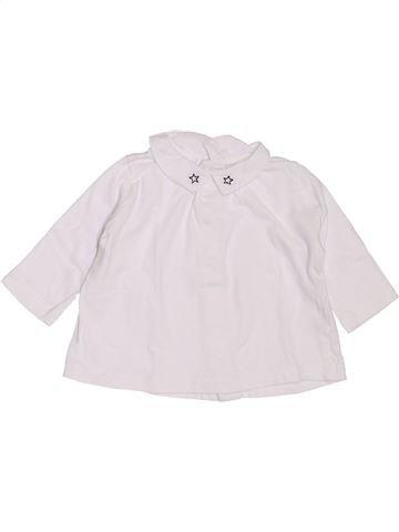 Camiseta de manga larga niña BOUT'CHOU blanco 3 meses invierno #1397605_1