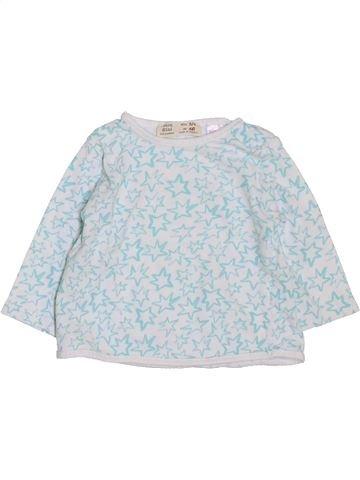 T-shirt manches longues garçon ZARA bleu 6 mois hiver #1397612_1