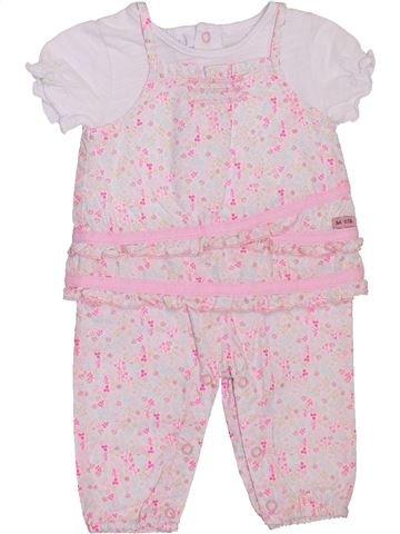 Combinación larga niña LA COMPAGNIE DES PETITS rosa 1 mes verano #1397704_1