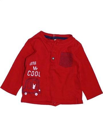 Camiseta de manga larga niño GEMO rojo 9 meses invierno #1397725_1