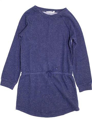 Robe fille MONOPRIX bleu 8 ans hiver #1398033_1